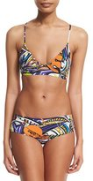 Emilio Pucci Light Grasshopper Printed Bikini Set