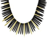 Kenneth Jay Lane and Satin Gold-Tone Sticks Necklace