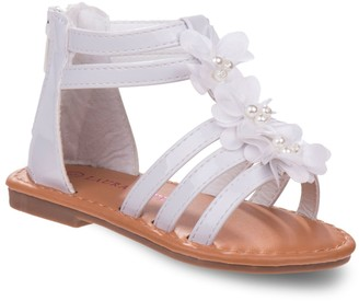 Laura Ashley Rose Toddler Girls' Gladiator Sandals