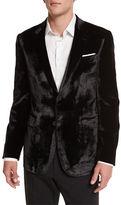 Paul Smith Bayard Liquid Velvet Two-Button Jacket