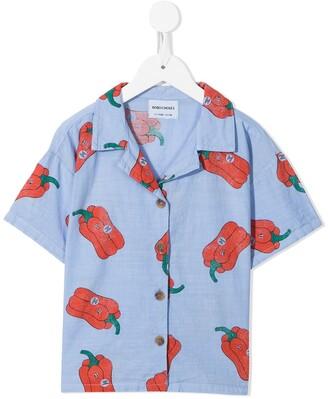 Bobo Choses Vote For Pepper print shirt