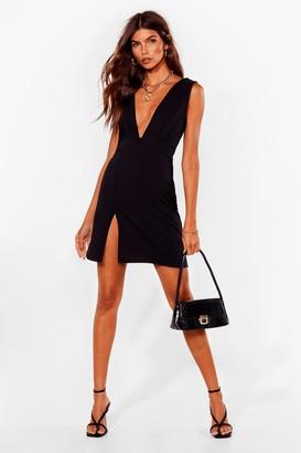 Nasty Gal Womens Deep On Dancing Mini Dress - Black - 4
