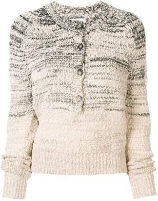 Etoile Isabel Marant two-tone knit jumper