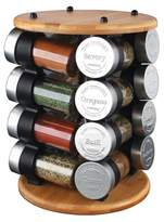 Olde Thompson Wood 16pc Carousel Spice Rack