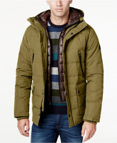 MICHAEL Michael Kors Big & Tall Hooded Puffer Coat with Attached Bib