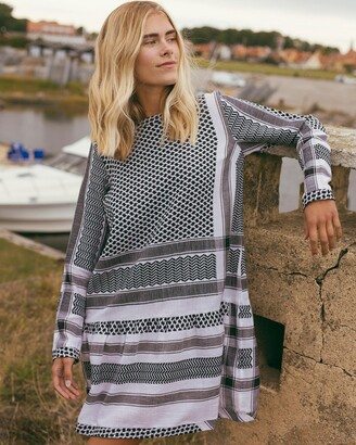Cecilie Copenhagen Women's Black Mini Dresses - Dress 2, O, Long Sleeves - Size XS at The Iconic