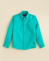 Vilebrequin Boys' Woven Button Down Shirt - Sizes 2-14