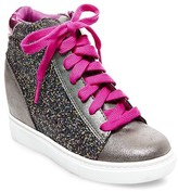 Betseyville by Betsey Johnson Girls' Pallas Hidden Wedge Sneakers - Gray