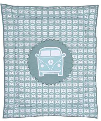 Taftan Little Van Playpen Mat (Grey/Blue)