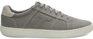 Toms Grey Canvas Leandro Men's Sneakers