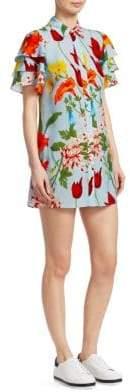 Alice + Olivia Jem Floral Shirtdress