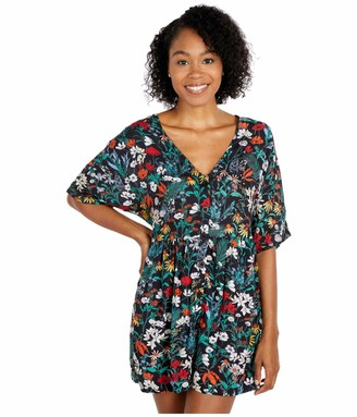 RVCA womens Mysterious Oversized Babydoll Dress