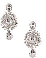 Cezanne Pear Medallion Drop Earrings