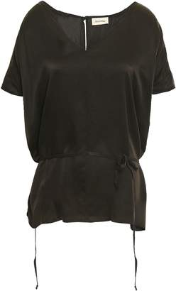 American Vintage Washed-silk Top