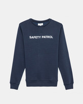 Soulland Lee Sweatshirt Print (Navy)