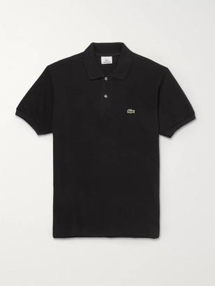 Lacoste Logo-Appliqued Cotton-Pique Polo Shirt