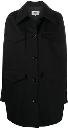 MM6 MAISON MARGIELA Oversized Button-Up Jacket