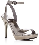 MICHAEL Michael Kors Catarina Metallic High Heel Platform Sandals