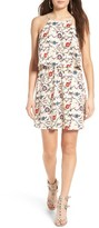 Lush Women's Floral Popover Dress
