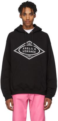 Versace Black Atelier Hoodie