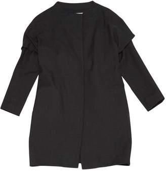 Marni Anthracite Wool Coats
