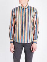 Paul Smith Mens Orange Breathable Shirt