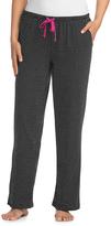 Hanes Black Geometric Drawstring Pajama Pants