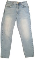 Urban Outfitters Blue Cotton Jeans for Women