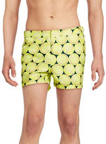 Original Penguin Tennis Ball Swim Shorts