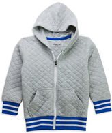 Sovereign Code Boys 8-20 Long Sleeve Quilted Varsity Jacket with Hood