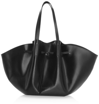 Nanushka Big Lynne Convertible Leather Tote