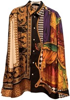 Versace Multicolour Silk Shirts