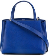 Valextra detachable shoulder strap tote - women - Calf Leather - One Size