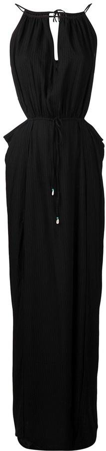Indah 'Mistral' blouson maxi dress