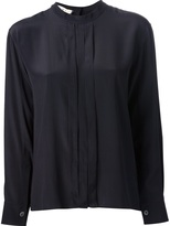 Marni pleated front blouse