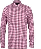 Hackett Brompton Berry Red Multi Gingham Slim Fit Shirt