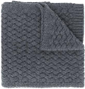 Dolce & Gabbana Woven Knit Scarf