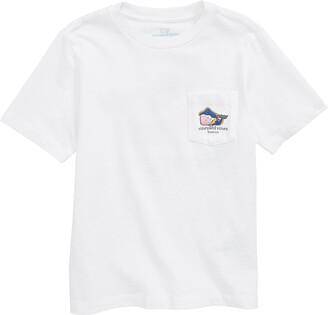 Vineyard Vines Boston Whale Pocket T-Shirt