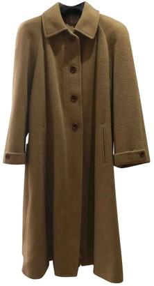 Loewe Camel Wool Coat for Women Vintage