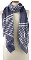 Classic Women's Diagonal Striped Scarf-Black