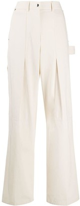 Helmut Lang High-Rise Utility Trousers