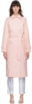 Saks Potts Pink Carole Coat