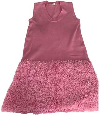 DELPOZO Pink Cotton Dresses