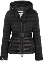 Moncler Bruche Hooded Quilted Down Jacket - Black