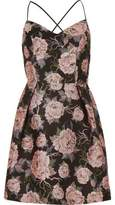 River Island Womens Pink floral strappy skater dress