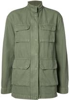 Nili Lotan Relaxed Fit Military Jacket