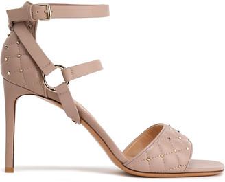 Valentino Rockstud Spike Leather Sandals