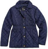 Asstd National Brand Girls Lightweight Puffer Jacket-Big Kid