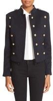 Burberry Women's 'Dunebeck' Wool & Cashmere Military Jacket