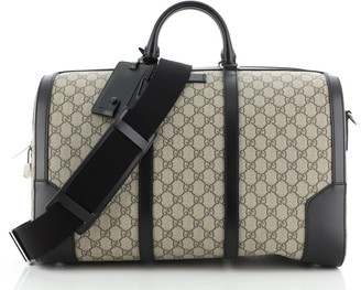 Gucci Convertible Duffle Bag GG Coated Canvas Medium